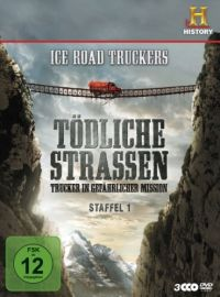 Ice Road Truckers - T�dliche Stra�en: Trucker in gef�hrlicher Mission, Staffel 1  Cover