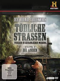 Ice Road Truckers - T�dliche Stra�en: Trucker in gef�hrlicher Mission, Staffel 2 Cover