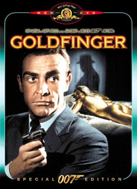 James Bond 007 - Goldfinger Cover