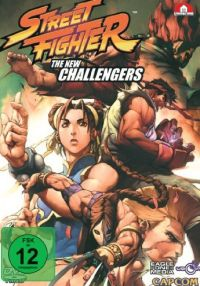 Street Fighter - The New Challengers Cover