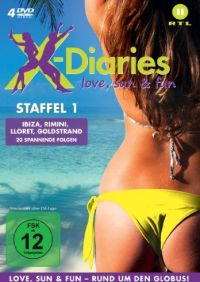 DVD X-Diaries - Love, Sun & Fun, Staffel 1