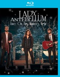 DVD Lady Antebellum - Live: On This Winters Night