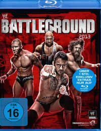 DVD WWE - Battleground 2013