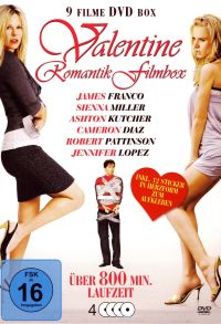 DVD Valentine Romantic Film Box
