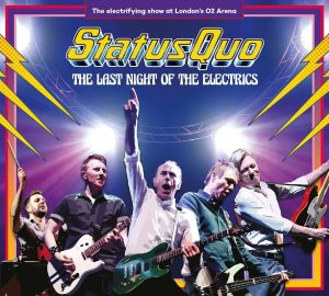 """Status Quo - The Last Night Of The Electrics"" aus dem Hause Earmusic"