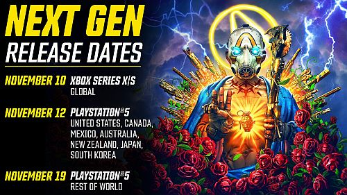 Borderlands 3 startet auf PlayStation 5 und Xbox Series X / Series S